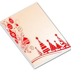 Christmas Clipart Wallpaper Large Memo Pads