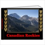 Canadian Rockies - 11 x 8.5 Photo Book(20 pages)
