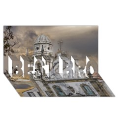 Exterior Facade Antique Colonial Church Olinda Brazil Best Bro 3d Greeting Card (8x4) by dflcprints