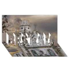 Exterior Facade Antique Colonial Church Olinda Brazil Best Sis 3d Greeting Card (8x4) by dflcprints
