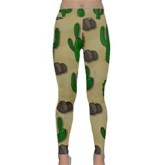 Cactuses Classic Yoga Leggings by Valentinaart