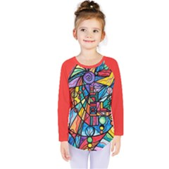 Lyra   Kids  Long Sleeve Tee by tealswan