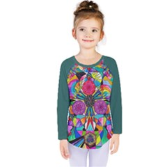 Positive Intention   Kids  Long Sleeve Tee by tealswan