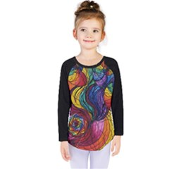Nurture   Kids  Long Sleeve Tee by tealswan