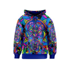 Activating Potential   Kids  Pullover Hoodie by tealswan
