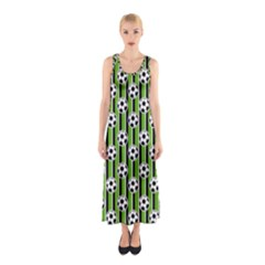 Ball Line Sleeveless Maxi Dress