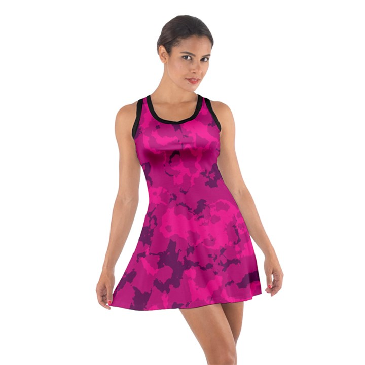 PINK TARN  Cotton Racerback Dress