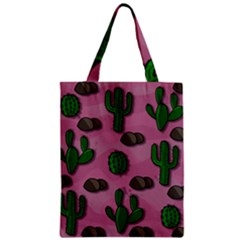 Cactuses 2 Zipper Classic Tote Bag by Valentinaart