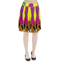 Foot Dance Pleated Skirt by AnjaniArt