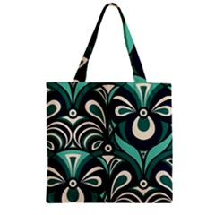 Missoni Spring Summer Zipper Grocery Tote Bag by AnjaniArt