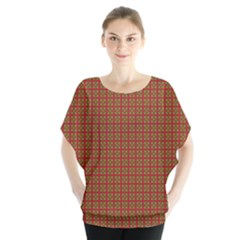 Christmas Paper Wrapping Paper    Blouse by Zeze