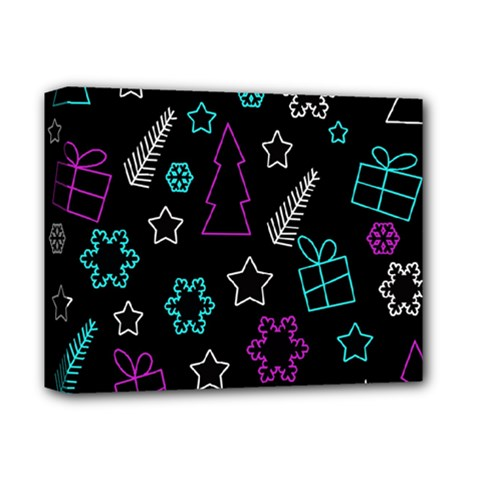 Creative Xmas Pattern Deluxe Canvas 14  X 11  by Valentinaart