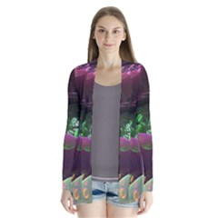 Creation Of The Rainbow Galaxy, Abstract Cardigans by DianeClancy