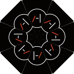 Twenty One Pilots Band Logo Hook Handle Umbrellas (small) by Onesevenart