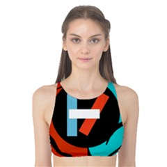 Twenty One Pilots  Tank Bikini Top by Onesevenart