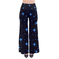 Bright Blue  Stars In Space Pants