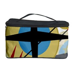 Compass 4 Cosmetic Storage Case by Valentinaart