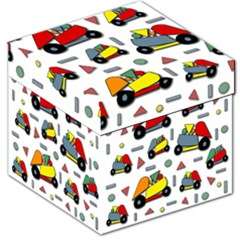 Toy Cars Pattern Storage Stool 12   by Valentinaart