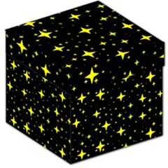 Bright Yellow   Stars In Space Storage Stool 12