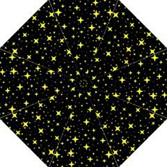 Bright Yellow   Stars In Space Golf Umbrellas by Costasonlineshop
