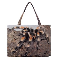 Tarantula Medium Zipper Tote Bag by TailWags