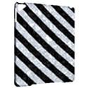 STRIPES3 BLACK MARBLE & GRAY MARBLE (R) Apple iPad Pro 9.7   Hardshell Case View2