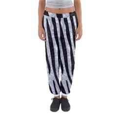 Skin4 Black Marble & Gray Marble Women s Jogger Sweatpants by trendistuff