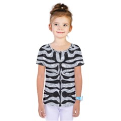 SKN2 BK-GY MARBLE (R) Kids  One Piece Tee by trendistuff