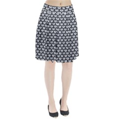 SCA3 BK-GY MARBLE (R) Pleated Skirt by trendistuff