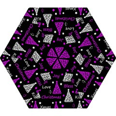 New Year Pattern   Purple Mini Folding Umbrellas by Valentinaart