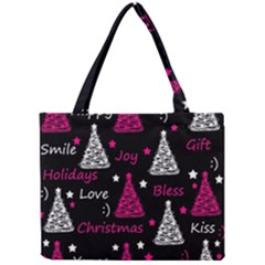 New Year Pattern   Magenta Mini Tote Bag by Valentinaart