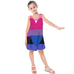 Combo Flag Kids  Sleeveless Dress