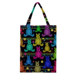 Teddy Bear 2 Classic Tote Bag by Valentinaart