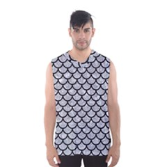 SCA1 BK-GY MARBLE (R) Men s Basketball Tank Top by trendistuff