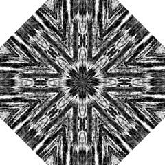 Black White Taditional Pattern  Straight Umbrellas by Costasonlineshop