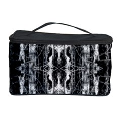Black White Taditional Pattern  Cosmetic Storage Case