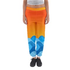 Water Orange Women s Jogger Sweatpants by AnjaniArt