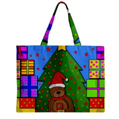 Xmas Gifts Zipper Mini Tote Bag by Valentinaart