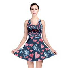 Shark Lover Reversible Skater Dress