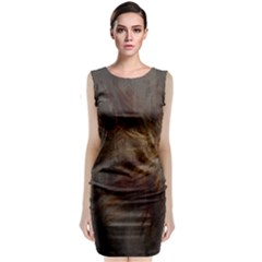 Brownstar Classic Sleeveless Midi Dress
