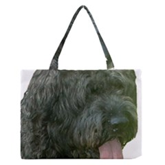 Bouvier Des Flandres Medium Zipper Tote Bag by TailWags