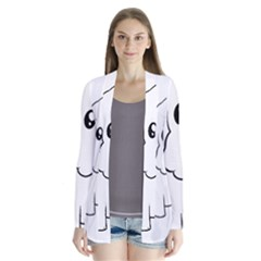 Coton De Tulear Cartoon Cardigans by TailWags
