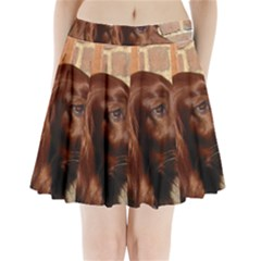 Irish Setter Pleated Mini Skirt by TailWags
