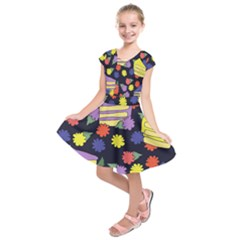 Cake Lover Kids  Short Sleeve Dress by BubbSnugg