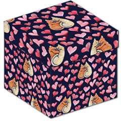 Crazy Cat Love Storage Stool 12   by BubbSnugg