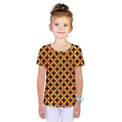 CIR3 BK-OR MARBLE Kids  One Piece Tee by trendistuff