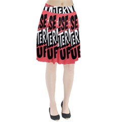 Closethe Internet Up Pleated Skirt by AnjaniArt