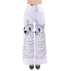 White Cat  Pants by Valentinaart