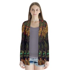 Night Xmas Decorations Lights  Cardigans by Zeze