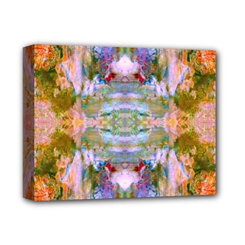 Wonderland Deluxe Canvas 14  X 11  (framed) by wbk1